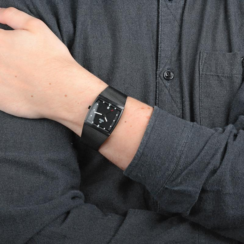 Obaku Men watch LUND - CHARCOAL SM1 view