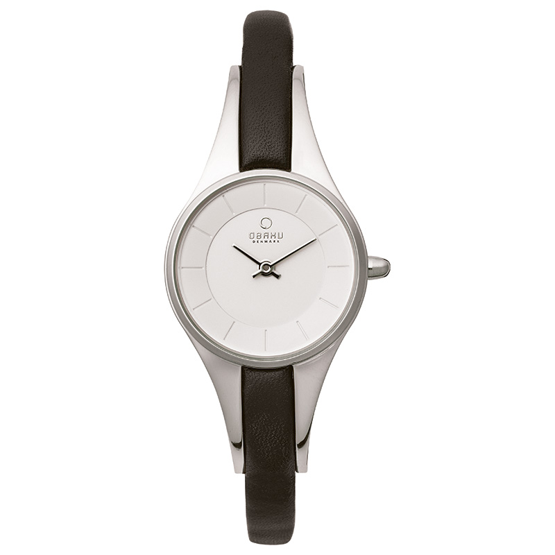 Obaku Women watch MORGEN - BLACK FRONT view