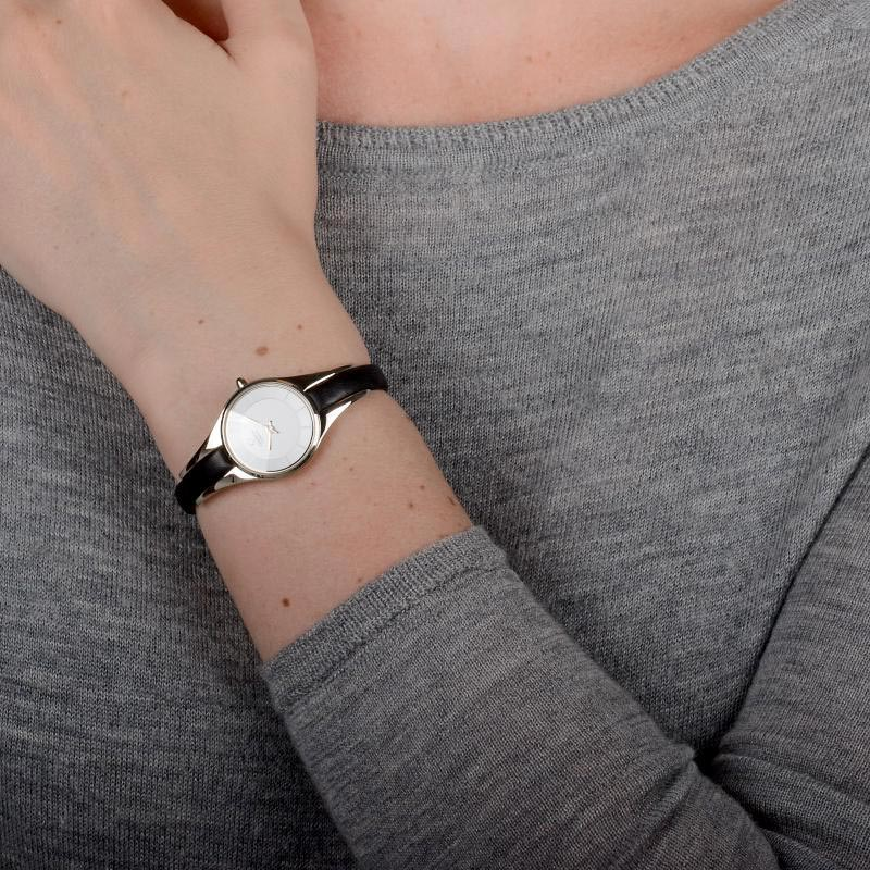 Obaku Women watch MORGEN - BLACK WRIST view