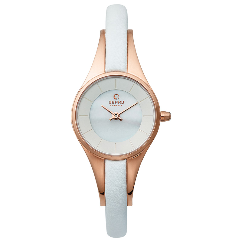 Obaku Women watch MORGEN - PEARL FRONT view