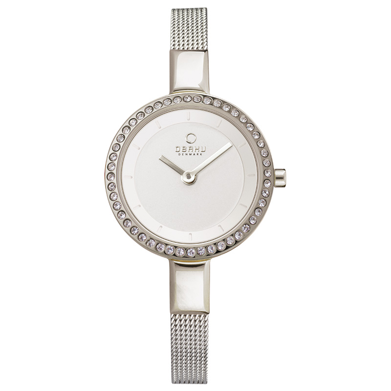 Obaku Women watch SIV GLIMT - STEEL FRONT view