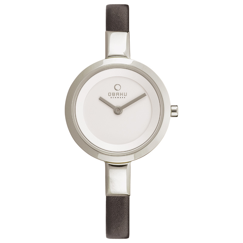 Obaku Women watch SIV - BLACK FRONT view