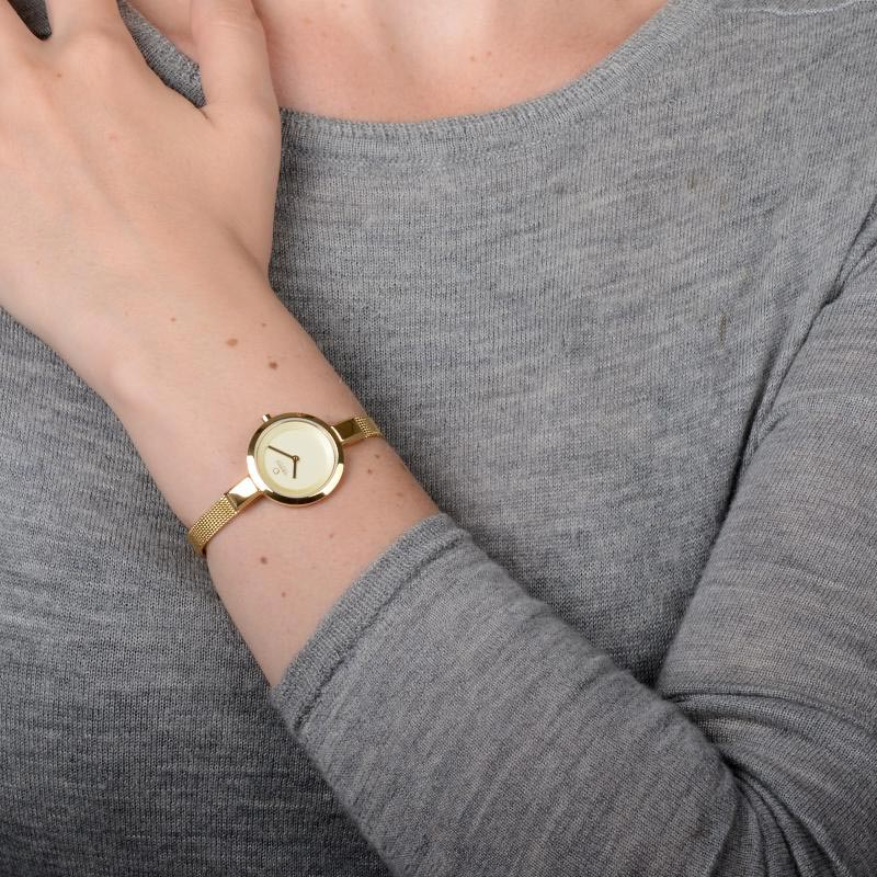 Obaku Women watch SIV - GOLD WRIST view