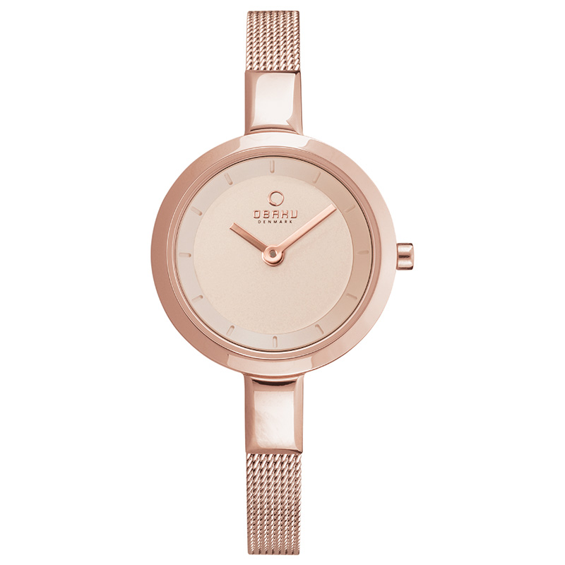 Obaku Women watch SIV - ROSE FRONT view