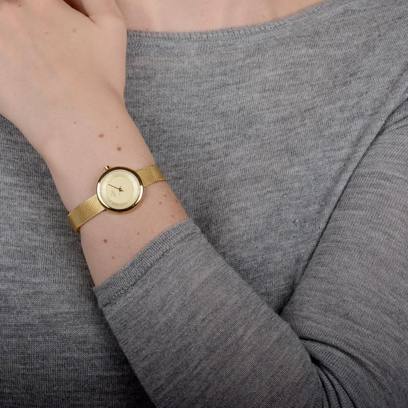 Obaku Women watch STILLE - GOLD SM1 view