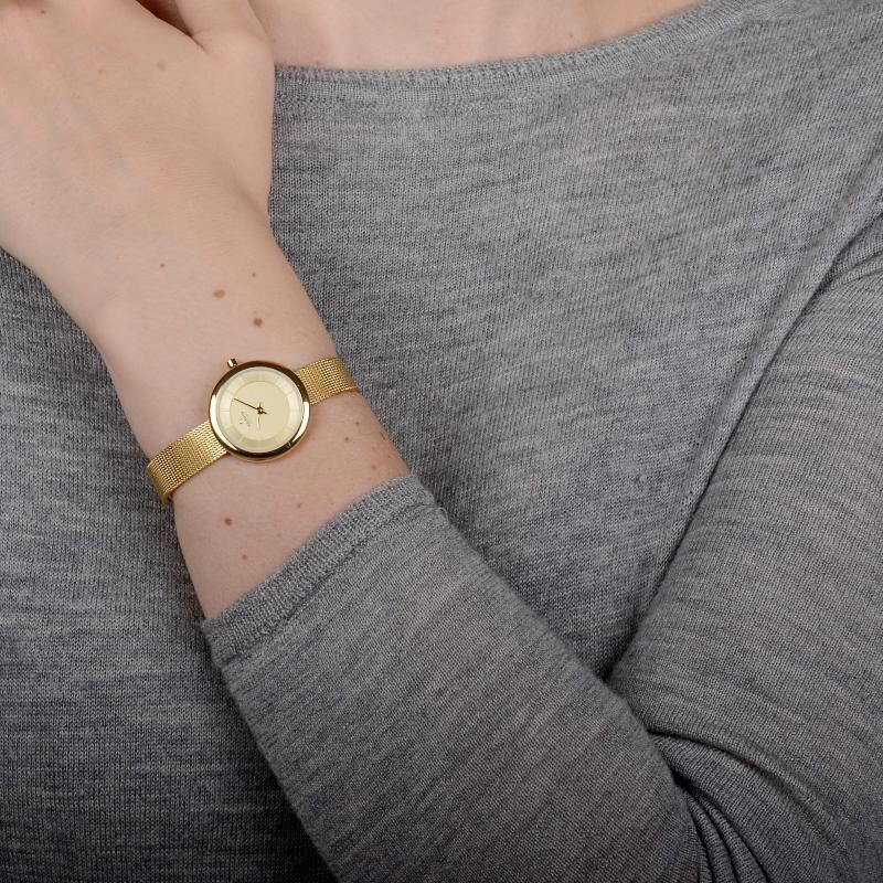 Obaku Women watch STILLE - GOLD WRIST view