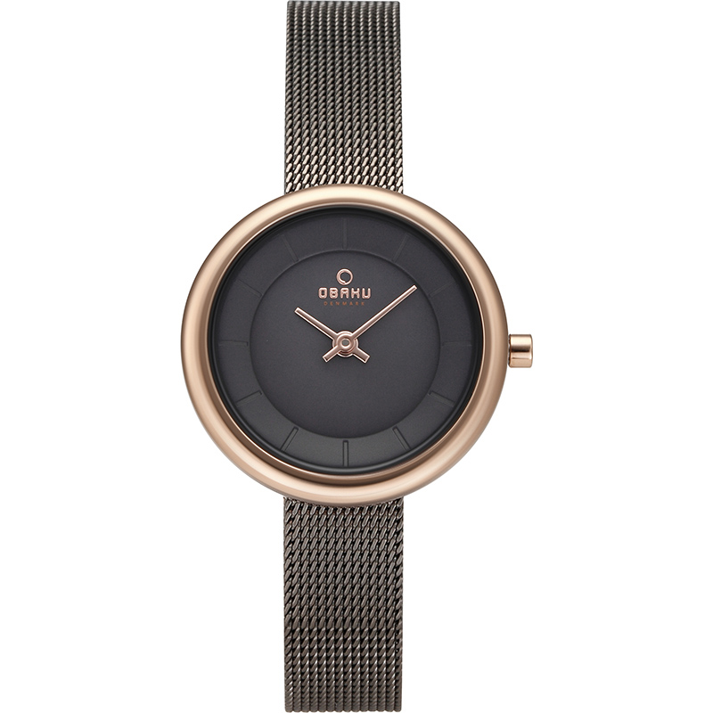 Obaku Women watch STILLE - GRANITE FRONT view