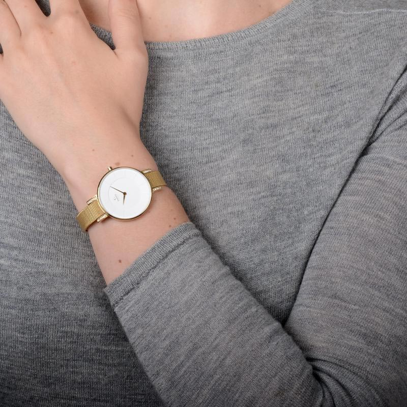 Obaku Women watch LUN - GOLD WRIST view
