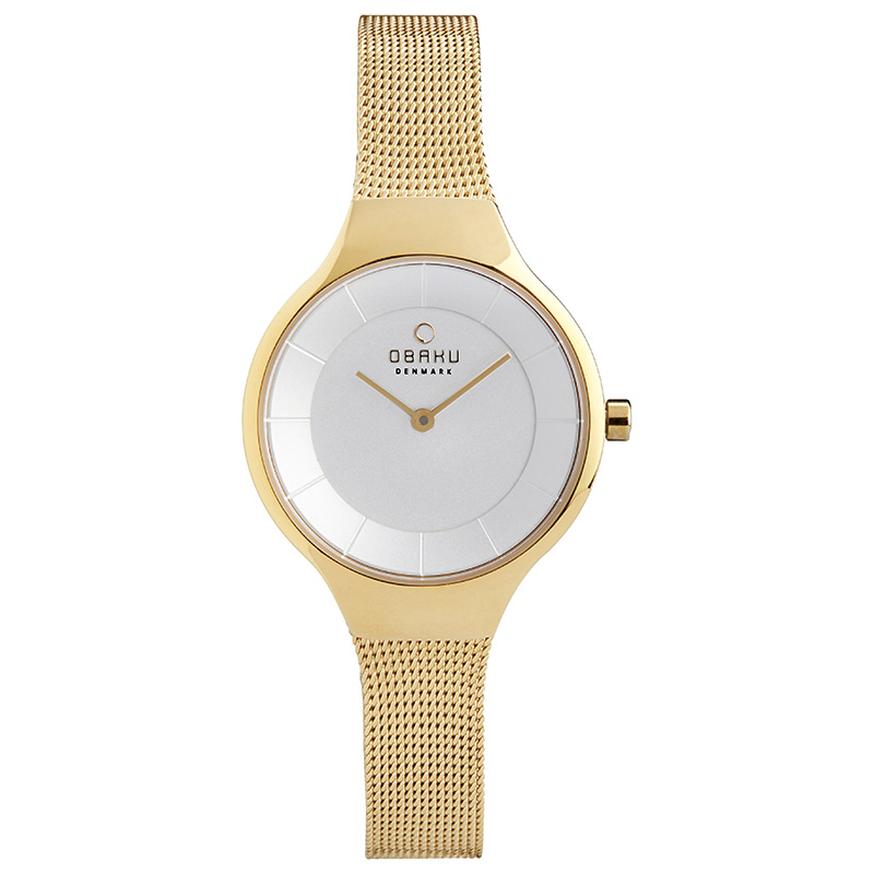 Obaku Women watch EKKO - GOLD FRONT view