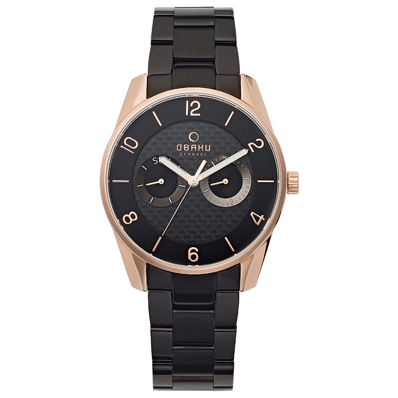 Obaku Men watch FLINT - INK