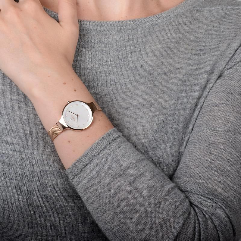 Obaku Women watch SKY - ROSE WRIST view