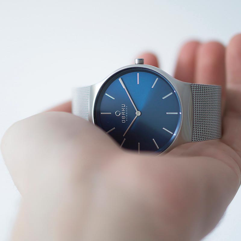 Obaku Men watch ROLIG - CYAN SM1 view