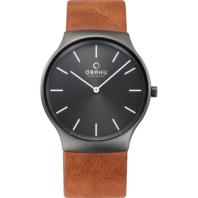 Obaku Men watch ROLIG - GUNTAN FRONT view
