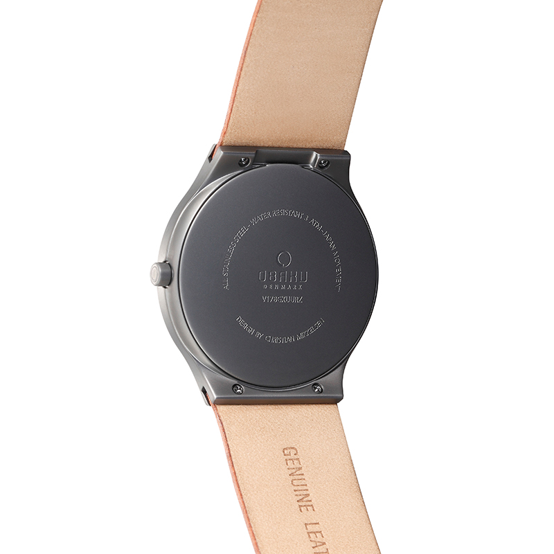 Obaku Men watch ROLIG - GUNTAN BACK view