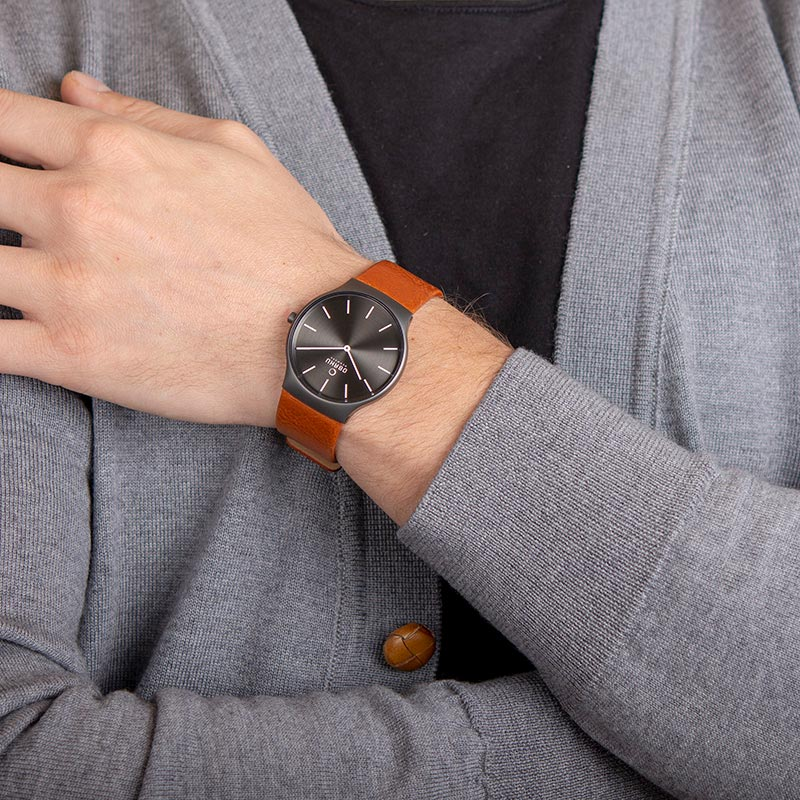 Obaku Men watch ROLIG - GUNTAN WRIST view
