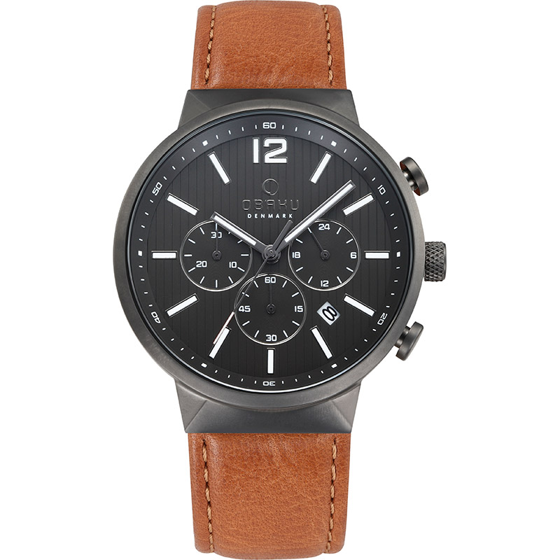 Obaku Men watch STORM - GUNTAN FRONT view