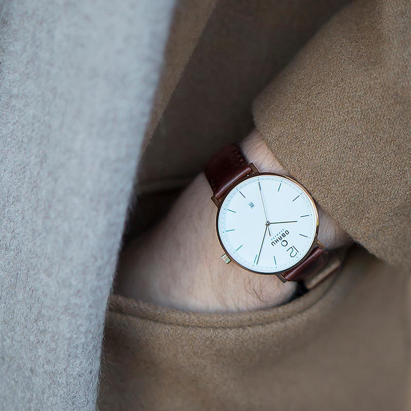 Obaku Men watch TOFT - MAHOGANY SM3 view