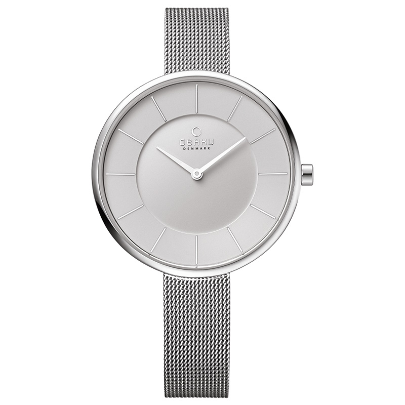 Obaku Women watch SAND - STEEL FRONT view