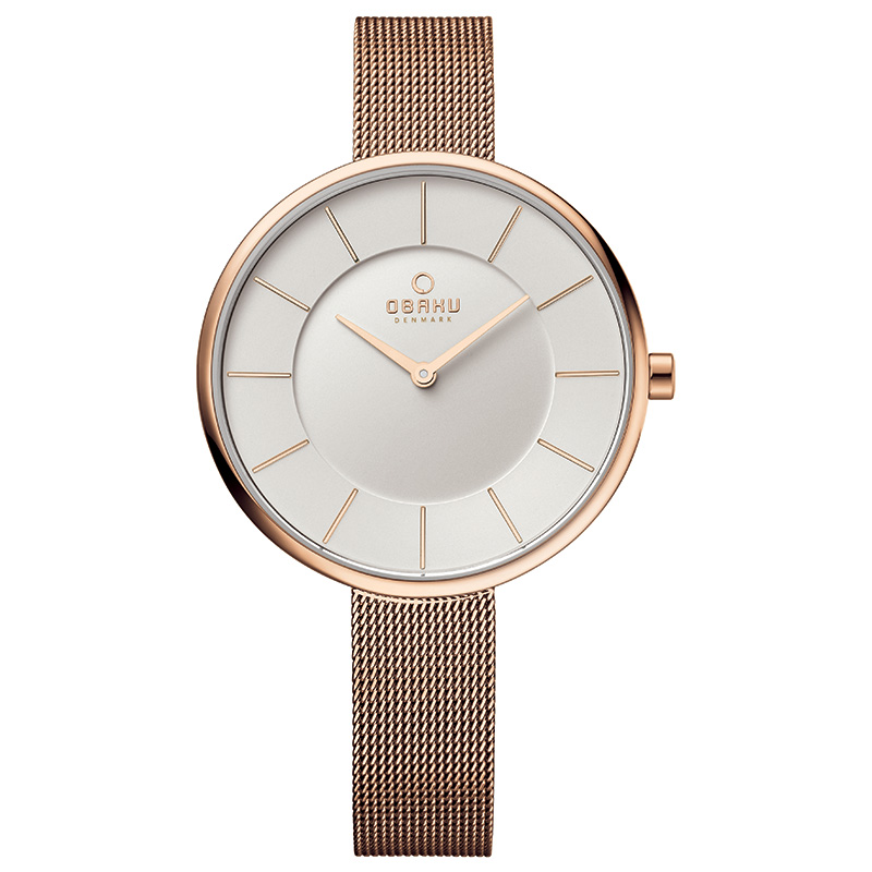 Obaku Women watch SAND - ROSE FRONT view