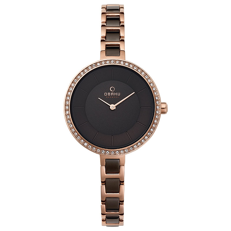 Obaku Women watch FROST - COFFEE