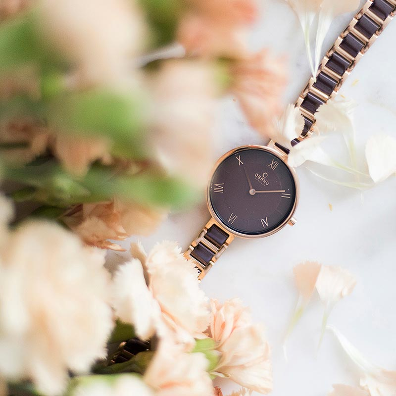 Obaku Women watch VAND - COFFEE SM1 view