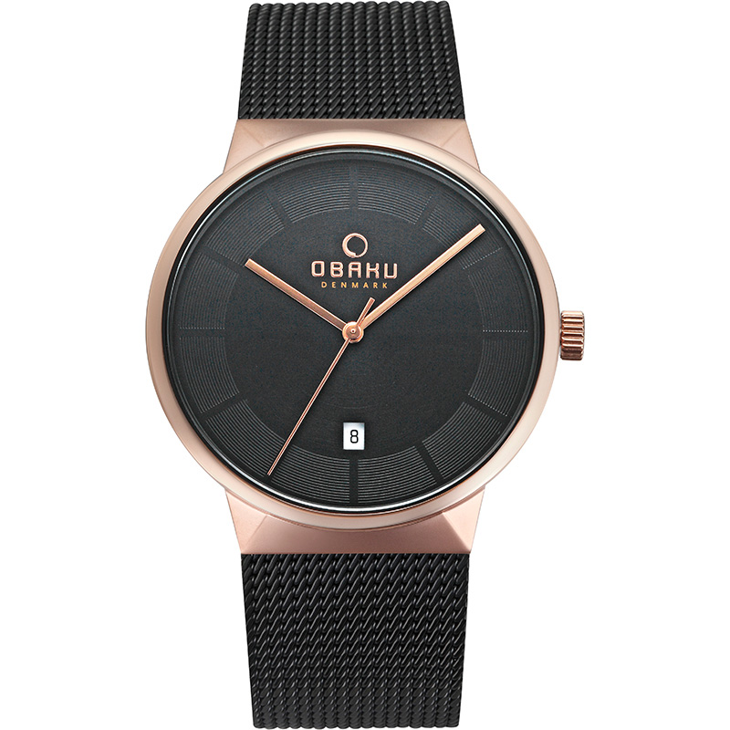 Obaku Men watch HAV - NIGHT FRONT view