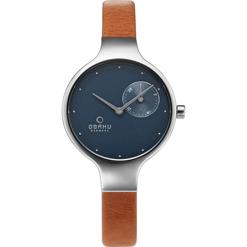 Obaku Women watch ENG - SYRUP FRONT view