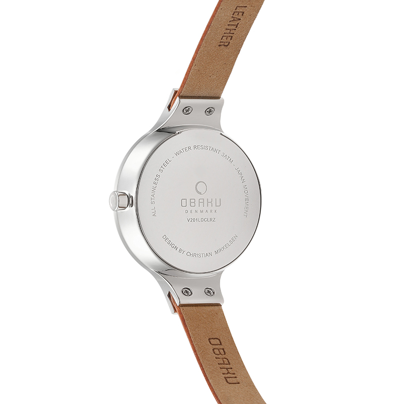 Obaku Women watch ENG - SYRUP BACK view