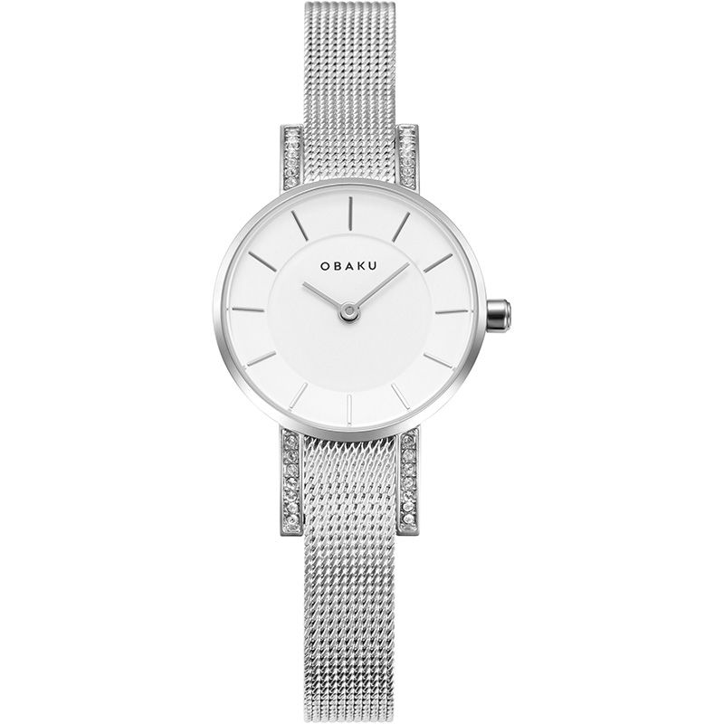 Obaku Women watch LYKKE - STEEL FRONT view