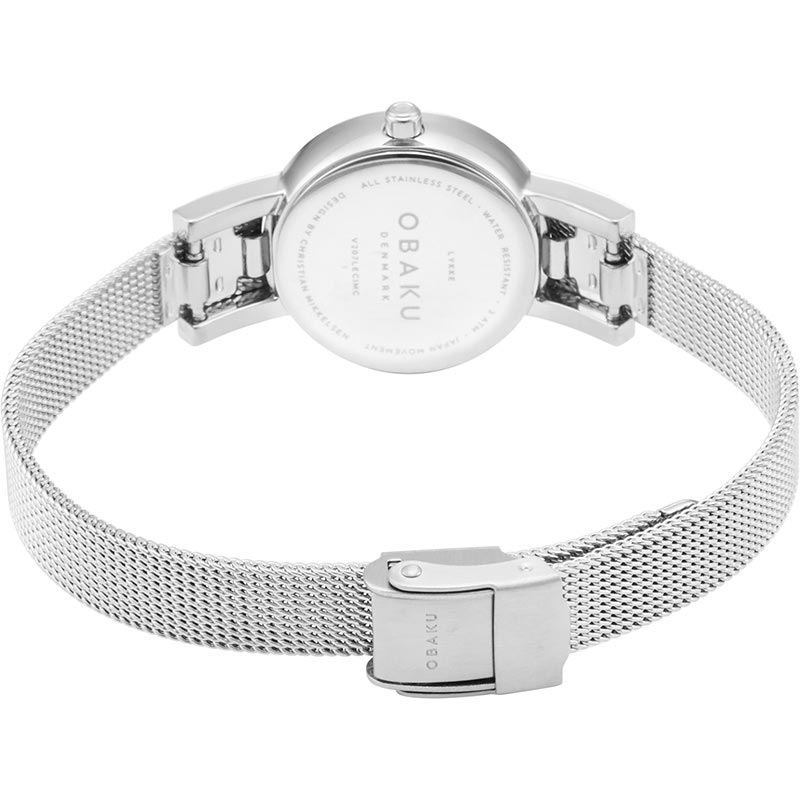 Obaku Women watch LYKKE - STEEL CLOSE view