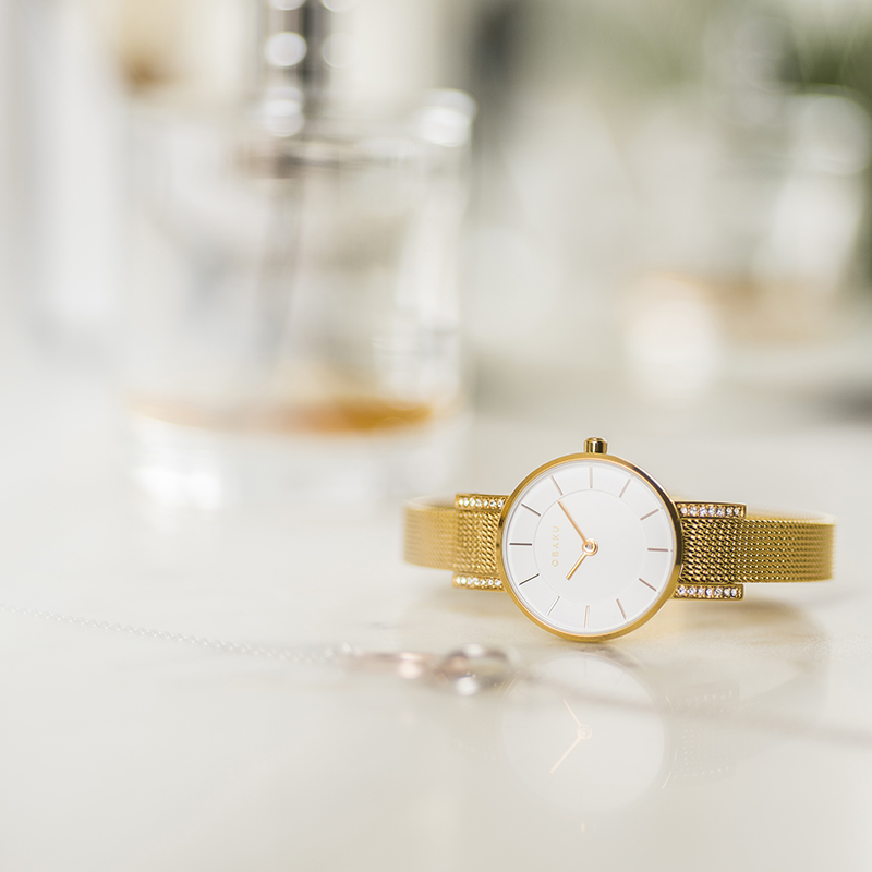 Obaku Women watch LYKKE - GOLD SM1 view
