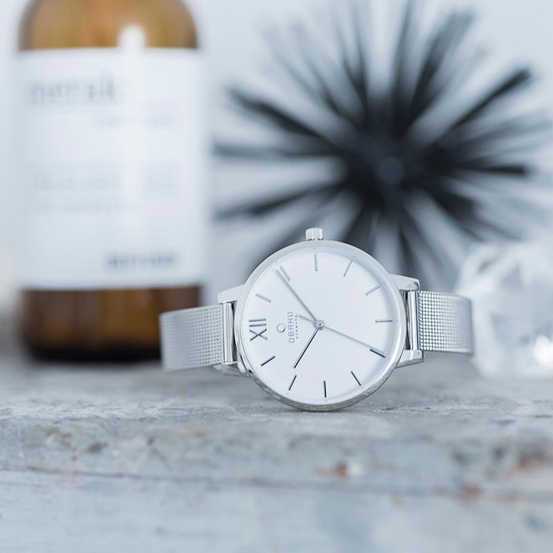 Obaku Women watch LIV - STEEL SM1 view