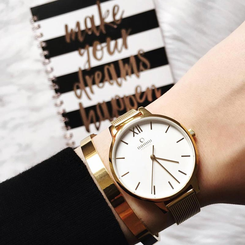 Obaku Women watch LIV - GOLD SM1 view