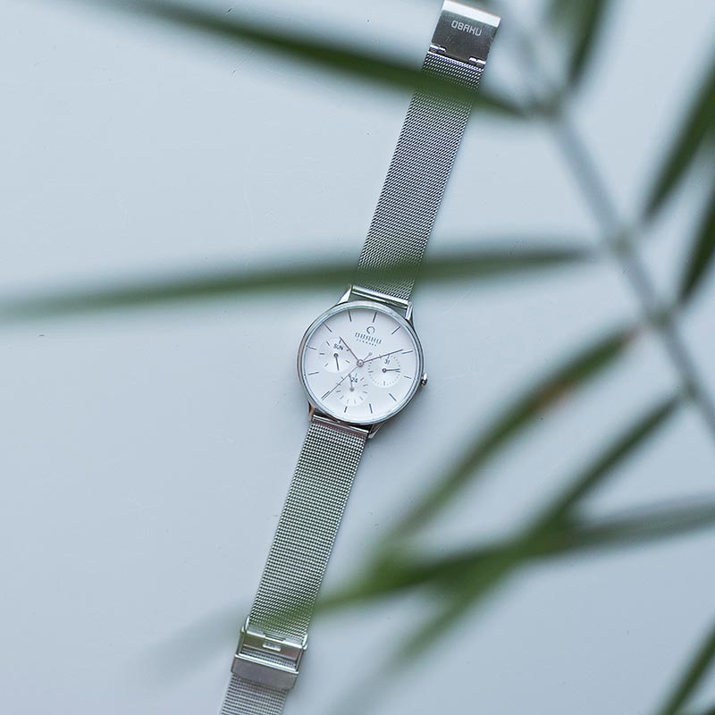 Obaku Women watch LIND - STEEL SM1 view