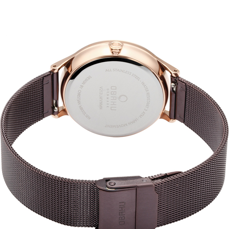 Obaku Women watch LIND - WALNUT CLOSE view