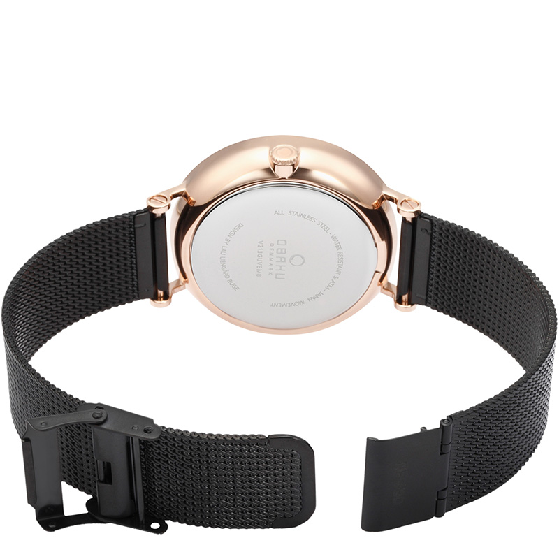 Obaku Men watch ELM - NIGHT OPEN view