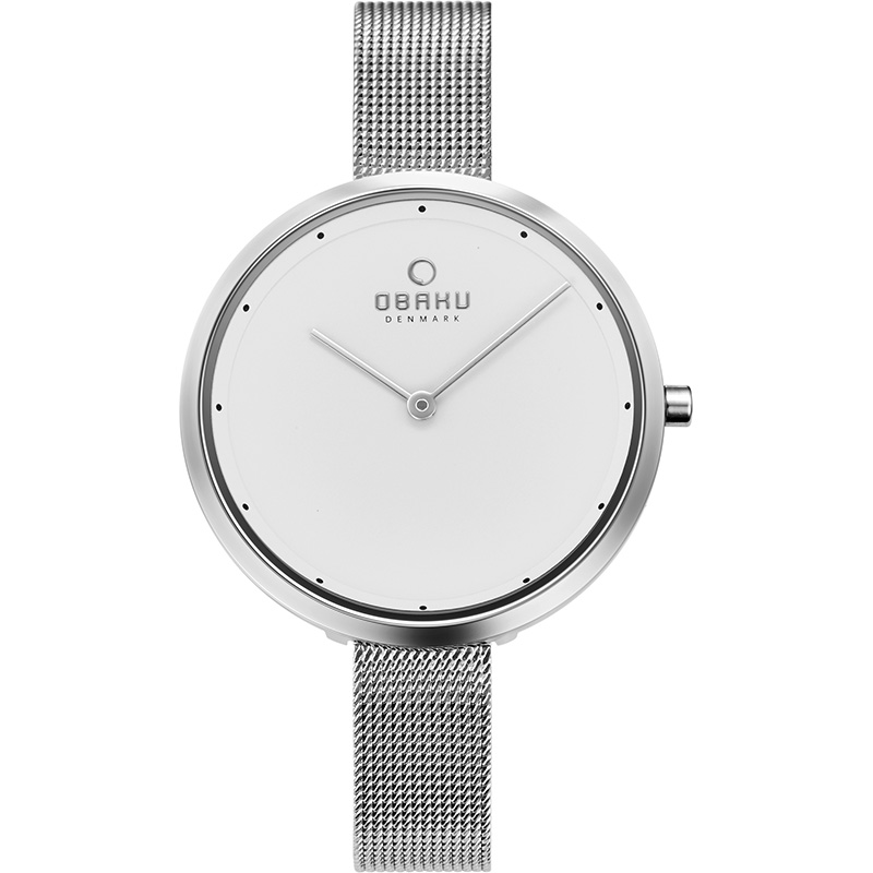 Obaku Women watch DOK - STEEL FRONT view