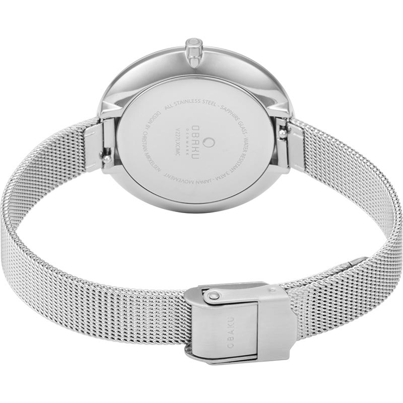 Obaku Women watch DOK - STEEL CLOSE view