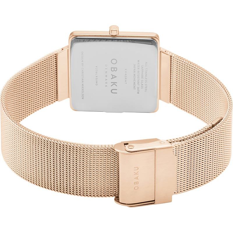 Obaku Women watch KVADRAT - ROSE CLOSE view