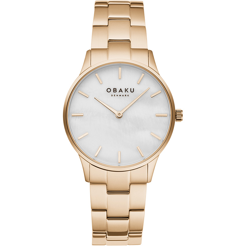 Obaku Women watch LYNG LILLE - ROSE FRONT view