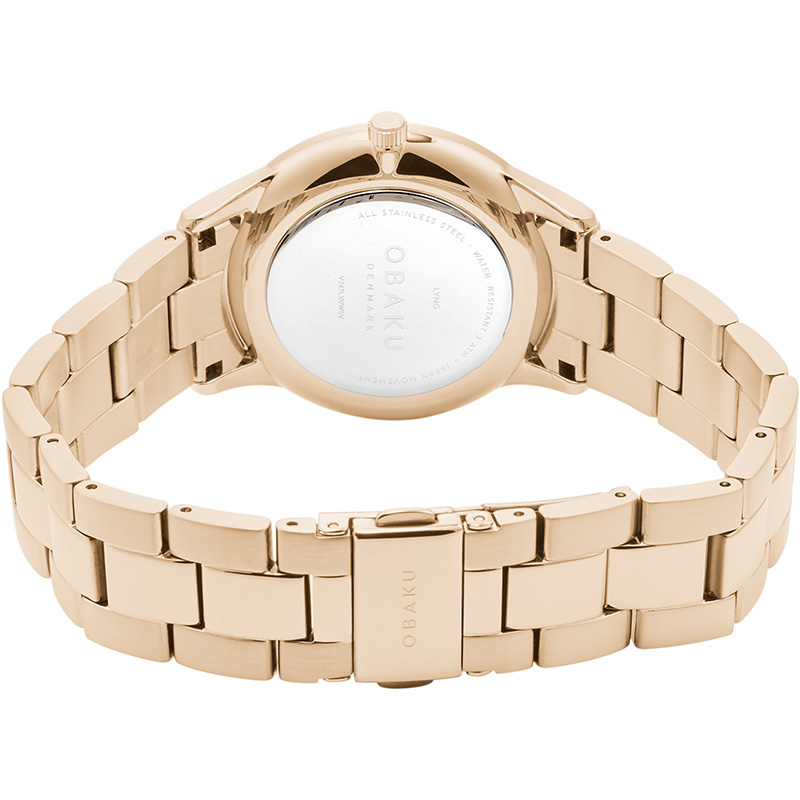 Obaku Women watch LYNG LILLE - ROSE CLOSE view