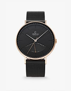 Obaku Men watch ELM
