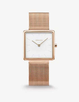 Obaku Women watch KVADRAT